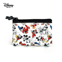 Genuine Disney Commemorative Mickey coin Purses Multi-function Women Bags Wallet Bags Fashion Mommy Bags For Girls Gifts(China)
