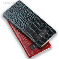 LANGSIDI Phone Case Crocodile Pattern On The Back Cover Phone Case For Samsung Galaxy Note8 Shell