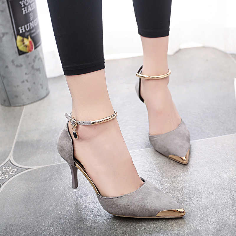 bow heels ladies pumps 2018 high shoes yellow women pums womens buckle  strap round toe lace 0773be405968