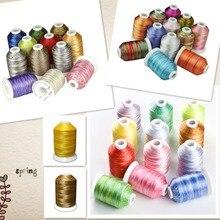 Simthread 38 Вариационная вышивка нить для машины/ручная швейная стеганая оверлокация кусочков на любой домашней машинке ручного шитья