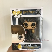 Exclusive Funko pop Official Harry Potter Harry Triwizard with Egg Vinyl Action Figure Collectible Model Toy with Original Box