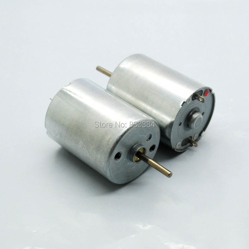 Dc motor low speed large torque 12 v 15 ma 3050 rpm in dc for Low rpm motor dc