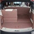 Хорошее качество! Специальные автомобильные коврики для багажника Ford Everest  7 мест  2019  водонепроницаемый коврик для грузового лайнера  ковро...
