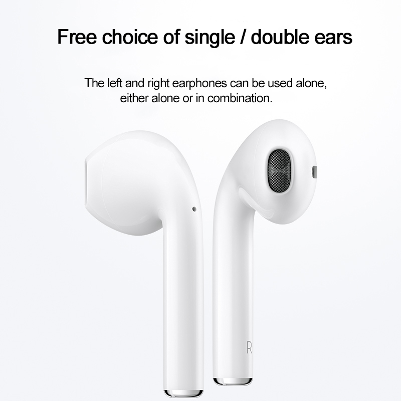 HOCO Twins Earphones Mini 3D Stereo Sound Bluetooth Earphone True Wireless Sport Earbuds Touch Control earpieces with Power bank