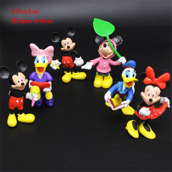 minnie mickey birthday cake topper baby shower return gifts birthday party decorations kids baby children toys cupcake toppers image