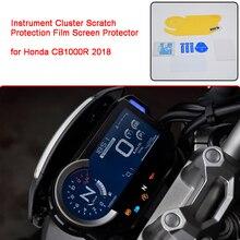 สำหรับ Honda CB1000R 2018 รถจักรยานยนต์ Cluster Scratch ป้องกันฟิล์ม Blu Ray สำหรับ Honda 2018 CB1000R