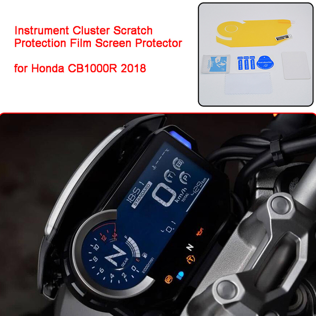 for Honda CB1000R 2018 Motorcycle Instrument Cluster Scratch Protection Film Screen Protector Blu ray for Honda 2018 CB1000R