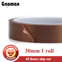 1 Roll 30mm 10 Meters 0 13mm High Temperature Stand Hot Insulating Adhesive Wear Resistance Teflon
