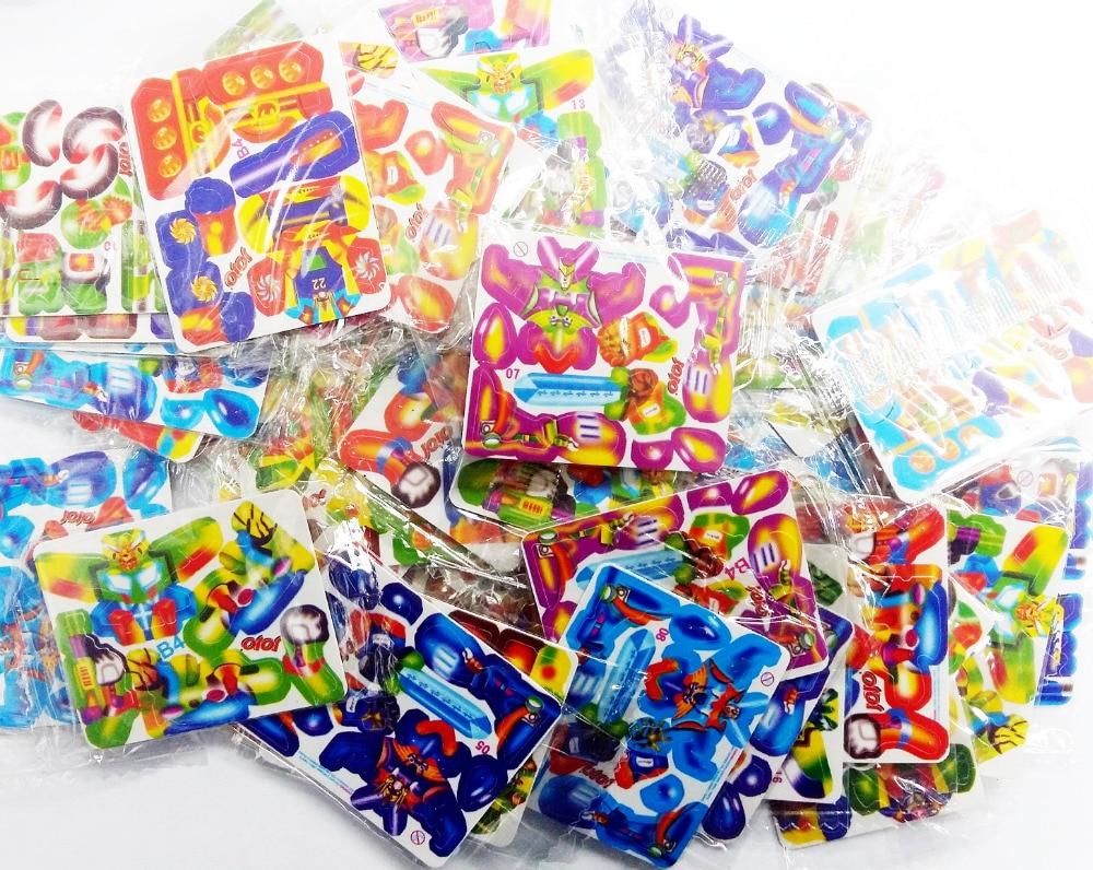 48pc MINI PUZZLE 3D CARD Birthday PARTY Favors TOYS ASSEMBLE FIGURE Assorted Random Design Pinata Bag Filler Loot Gag School
