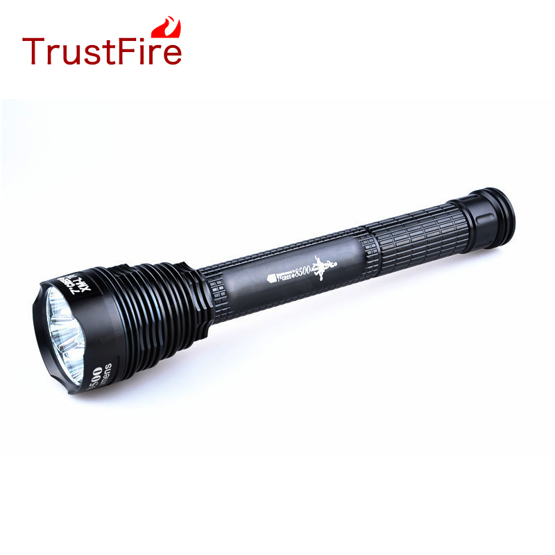 TrustFires  8500LM Cree XML 7T6 LED Flashlight Torch Lamp TR-J18 outdoor sitemap 7 xml