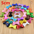 """100pcs/lot Classical 2"""" Embroidery Sequin Bows For Headband Boutique Hair Bows Hair Accessories 32color U Pick HDB12"""