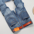 Utr 2016 verano delgado Moda hombres Jeans hombres moda slim fit pantalones vaqueros Masculinos más tamaño pantalones Largos ocasionales 2081