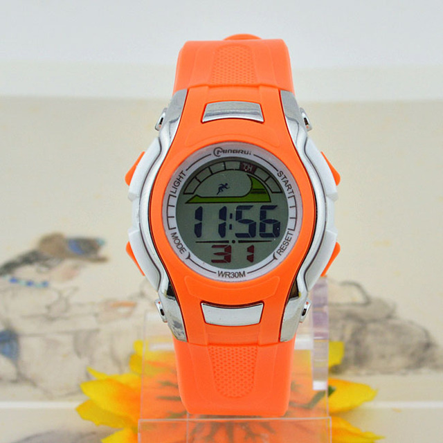 Fashion Digital Watch Sports Alarm Stopwatch Cartoon Watches 30M Waterproof Dress Wristwatches Student Children's Shock Hours