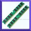 2GB 2X1GB PC2-4200 DDR2 533MHZ DDR2 533 Desktop Memory 1gb pc4200 ddr2 533mhz 240PIN RAM low DENSITY DIMM desktop  Free Shipping