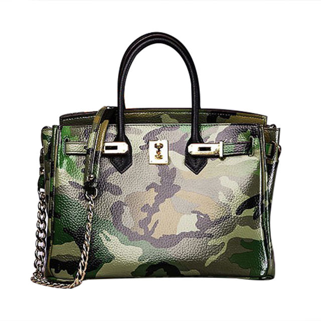 GZL Women Fashion bags Europe and the United States the latest fashion handbags female Camouflage bag tote bag HB0009