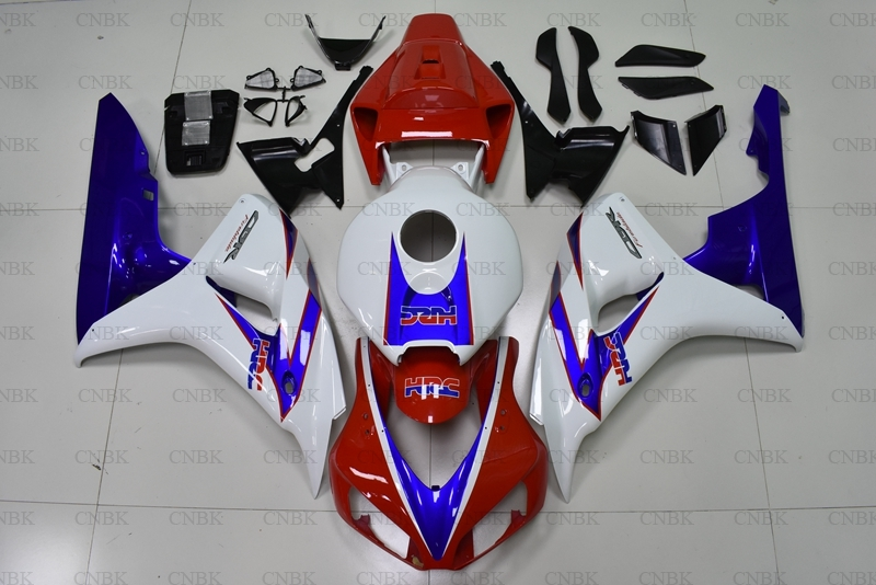for CBR 1000 RR 2006 2007 Fairing CBR1000RR 2006 White Red Blue Fairing Kits Fireblade 2006