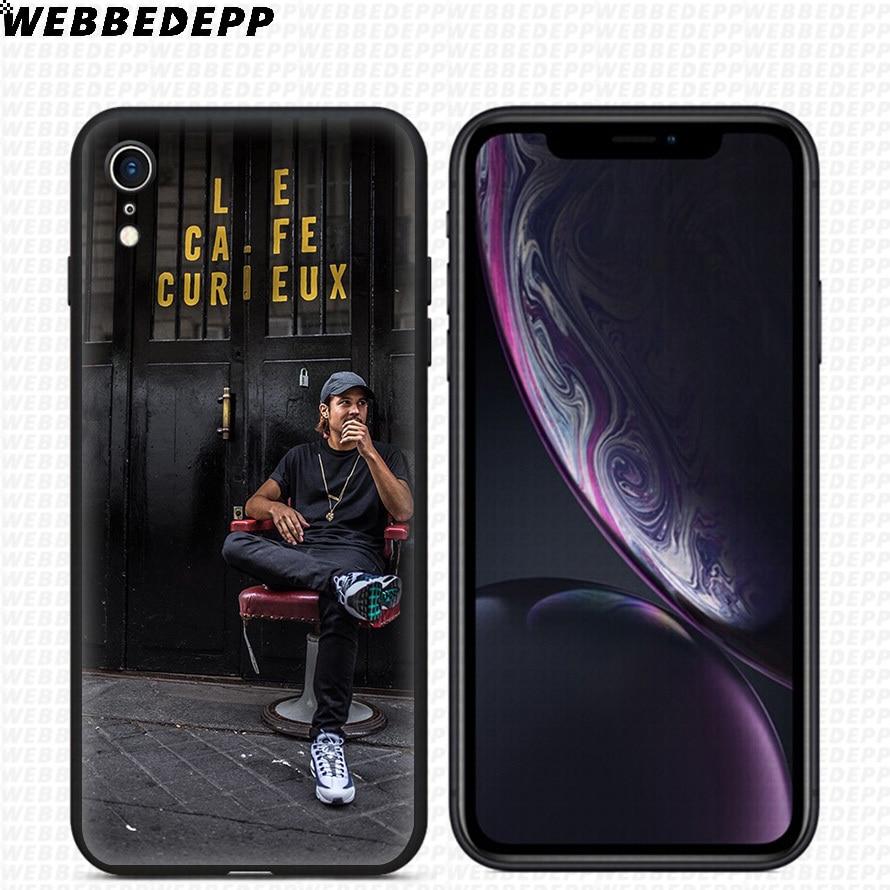 WEBBEDEPP Nekfeu Singer tui pour iphone 11 Pro Xr Xs Max X ou 10 8 7 960x960