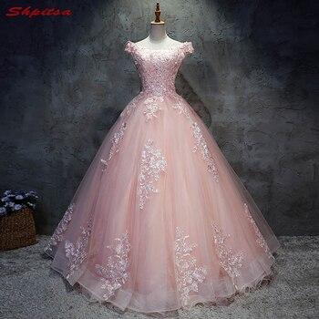 68b66b4c32b 2018 vestidos de Quinceañera de encaje Rosa 15 dulces 16 vestidos de fiesta  de quinceañera para 15 años