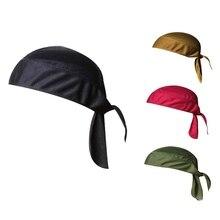 Быстросохнущая велосипедная Кепка s для спорта на открытом воздухе MTB велосипедные головные уборы Кепка для бега верховой езды бандана головной платок шапка для мужчин и женщин ветрозащитная