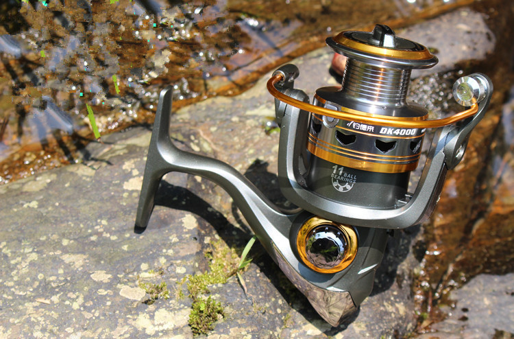 2016 New 10BB 5.2:11000 - 6000 Series Spinning Reel Discount for Simano Feeder Fishing Reel brand new smt yamaha feeder ft 8 2mm feeder used in pick and place machine