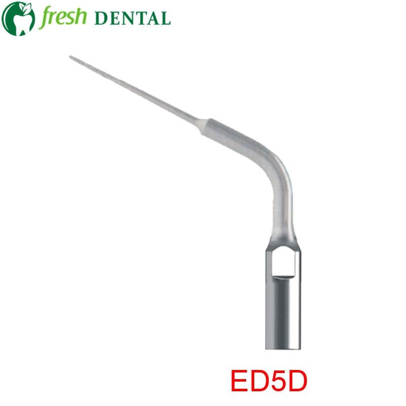 5PCS Dental Ultrasonic Scaler Tips ED5D Dental Endo Scaling Tips Compatible WITH SATELEC DTE ULTRASONIC SCALER Handpiece  ED5D