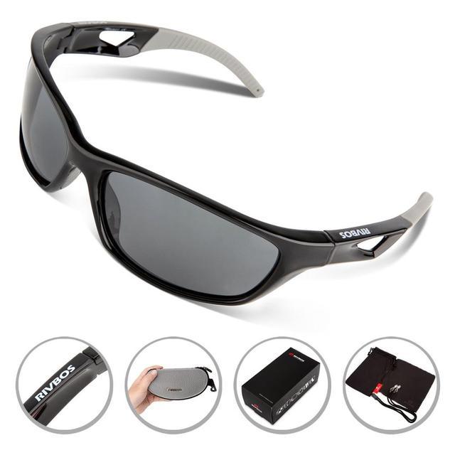 Polarizadas gafas de Sol Deportivas de Conducción Gafas para Hombres Mujeres Béisbol Correr gafas de sol Tr90 Marco Irrompible para Escalada