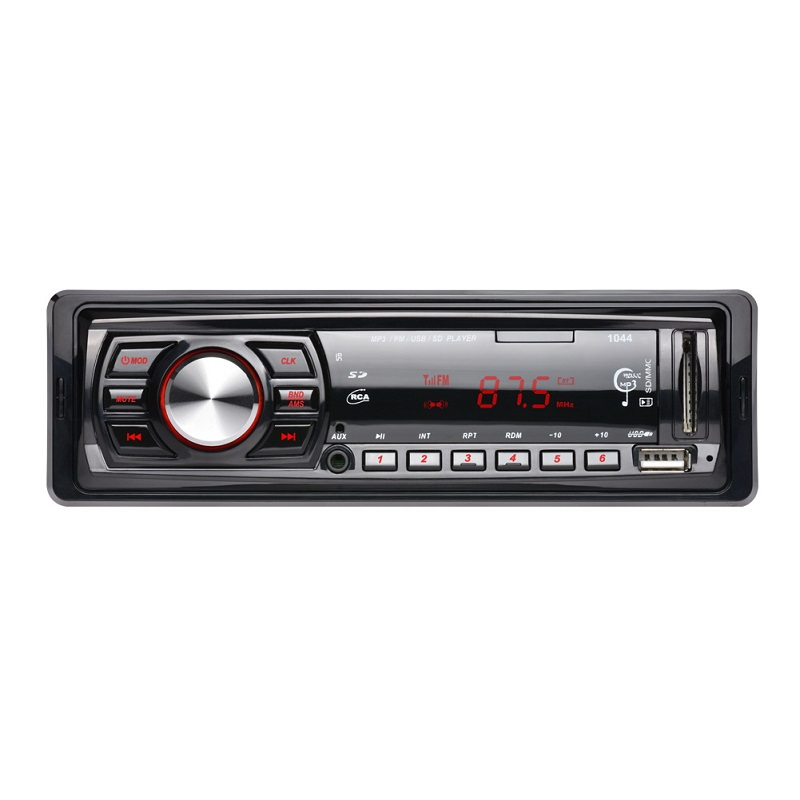 12V Car Radio Player Car Audio Auto Stereo In-dash Single 1 Din FM Receiver FM Receiver MP3 With Remote Control freeshipping tecsun pl 600 full band fm mw sw ssb pll synthesized stereo portable digital radio receiver pl600