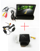 Wireless Color CCD Chip Car Rear View Camera for Mercedes-Benz B200 A-class W169 B-Class T245 + 4.3 Inch foldable LCD Monitor