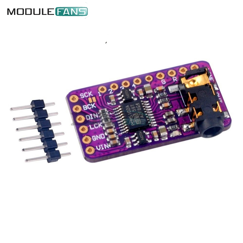 Punctual 1pcs Interface I2s Pcm5102 Dac Decoder Gy-pcm5102 I2s Player Module For Raspberry Pi Phat Format Board Digital Audio Board Tools Measurement & Analysis Instruments