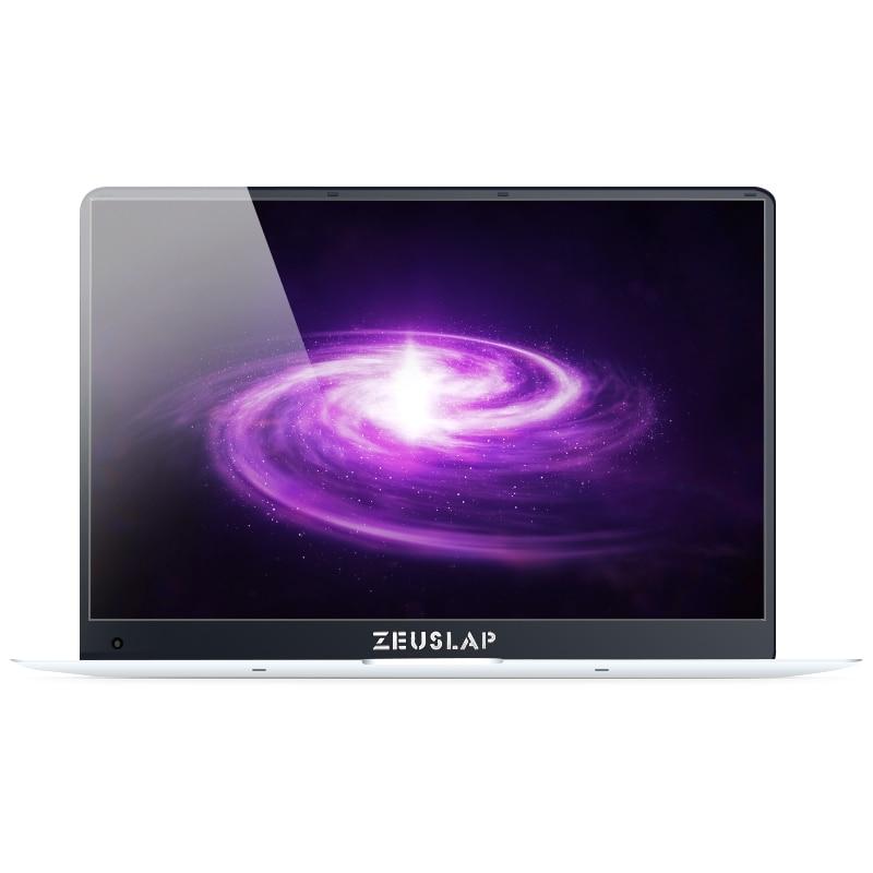 ZEUSLAP 15,6 дюйма 6 ГБ оперативной памяти 64 Гб SSD Win10 1920X1080 P ультратонкий Intel 4 ядра быстрая загрузка ноутбука Нетбуки Тетрадь компьютер PC