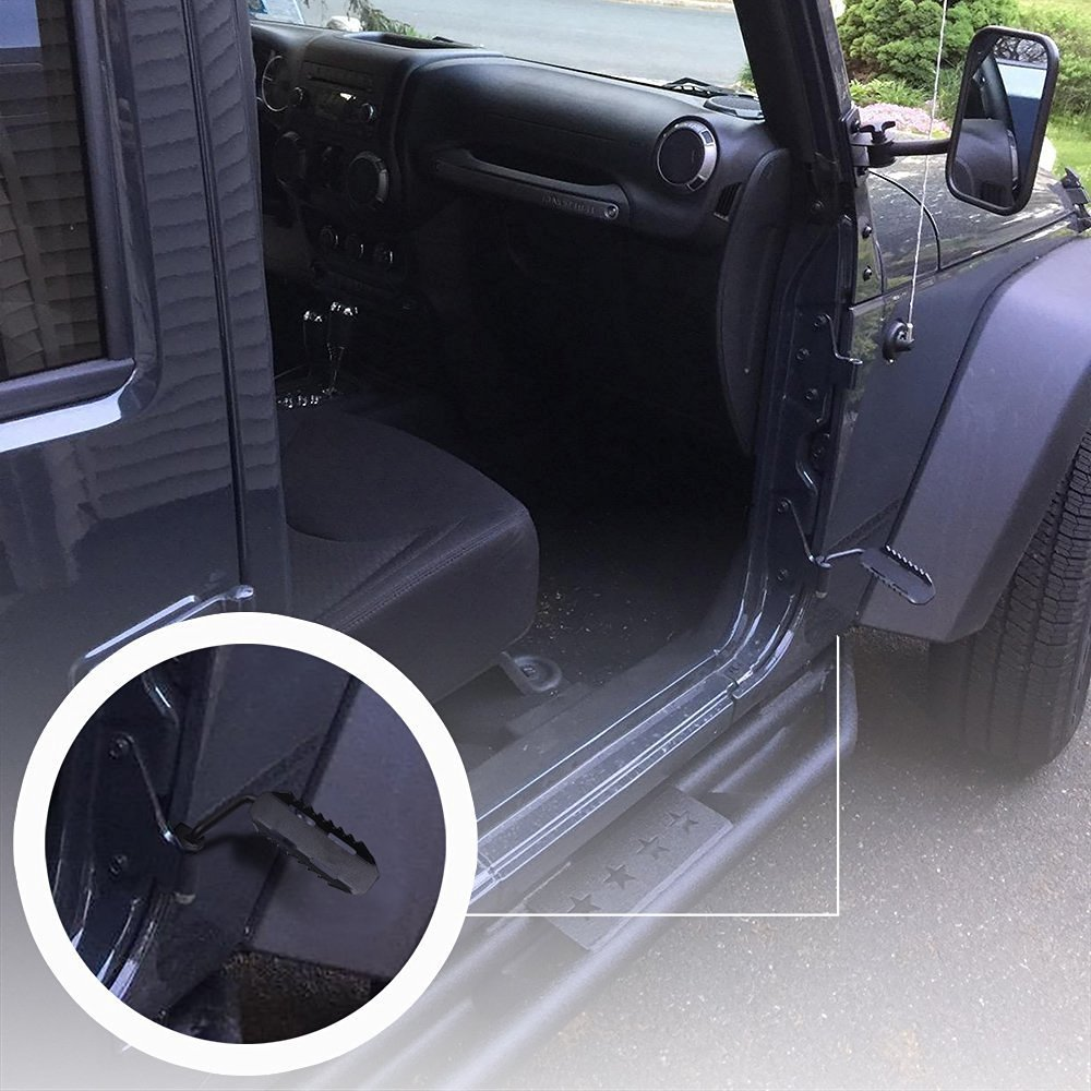 jeep door pegs & alternative views: