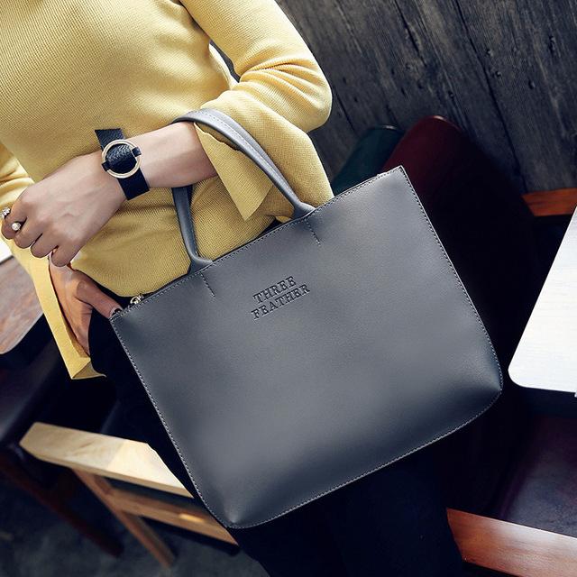 2017 Fashion New Hot Brand Women Large Tote Bags Female Designer Handbags High Quality Casual Women Bags Large Capacity Handbags