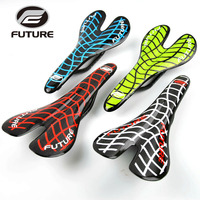 Future full carbon saddle ultralight bicycle seat road bike saddles cycling saddle sillin bicicleta mtb spider web bicycle parts