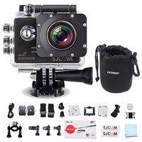 SJCAM SJ5000X Elite Wi Fi 4 К 24fps 2K30fps гироскопа Спорт DV 2,0 ЖК дисплей NTK96660 Дайвинг 30 м Водонепроницаемый действие Камера черный