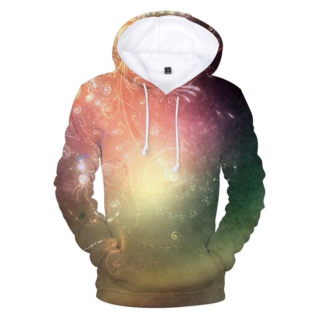 ef26db86d30eb2 Space Galaxy Hoodies Hooded Men/Women Hat 3d Sweatshirt Print Colorful  Nebula Thin Autumn Sweatshirts Hoodie