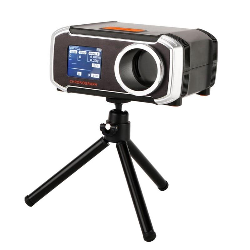 Testeur de vitesse de chasse LCD opération facile avec accessoire chronographe de prise de vue alimenté par batterie pour téléphone Bluetooth IOS Android