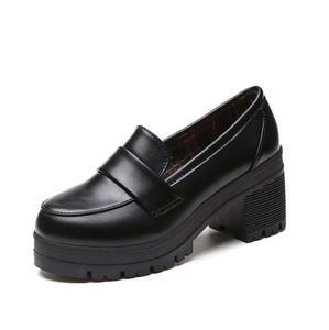 Image 3 - Uniform Schoenen Uwabaki Japanse Jk Vrouwen Meisjes Scholieren Lolita Schoenen Zwart Rood Beige Cosplay Schoenen Voor Volwassen
