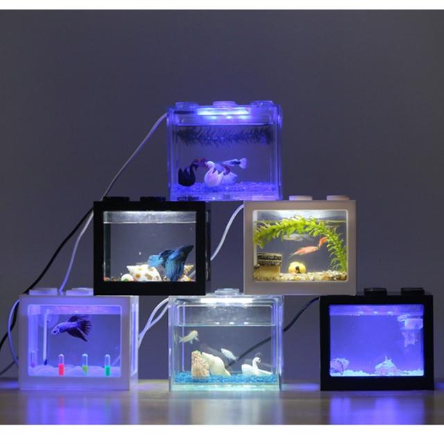 PETFORU Betta fish Fighting Mini Aquarium  3