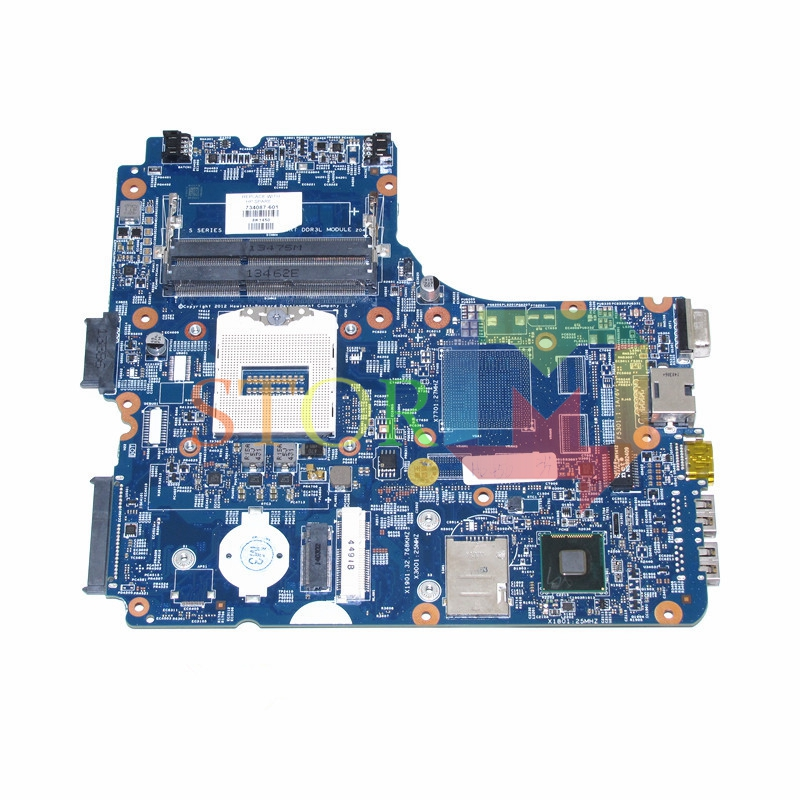 NOKOTION Mainboard for HP Probook 450 G1 laptop motherboard 48.4YW05.011 734087-601 734087-001 socket PGA 947 hm86 hd4400 DDR3L 744010 601 744010 501 for hp 640 g1 650 g1 laptop motherboard 744010 001 6050a2566402 mb a04 qm87 hd8750m mainboard 100% tested