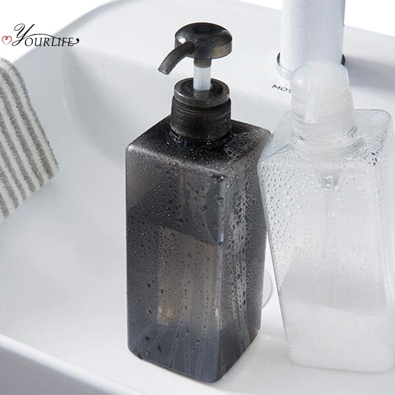 Прозрачный диспенсер для жидкого мыла OYOURLIFE 600 мл, пресс форма, насос для душа, бутылка для шампуня, контейнер для дезинфекции рук в ванной|Переносные дозаторы мыла|   | АлиЭкспресс