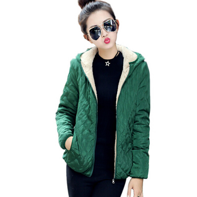 LARRONKETY Autumn  Winter Jackets Women new Winter Coats  Slim Short Snow Wear Wadded Coat Female Cotton-Padded Jacket Outerwear loft vintage edison glass light ceiling lamp cafe dining bar club aisle t300