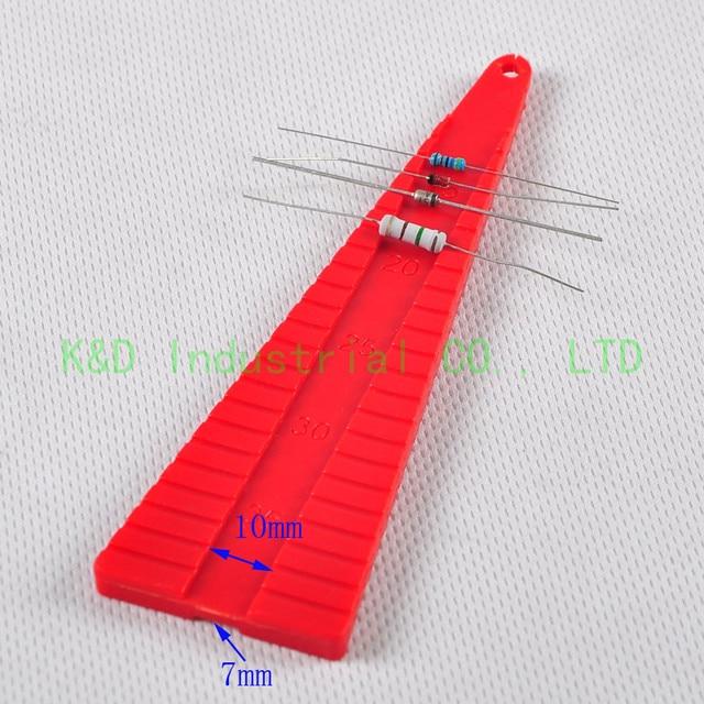 Condensateur Axial de Diode de résistance de Compos de carbone de cintreuses de plomb de 1 pc 136mm formant loutillage