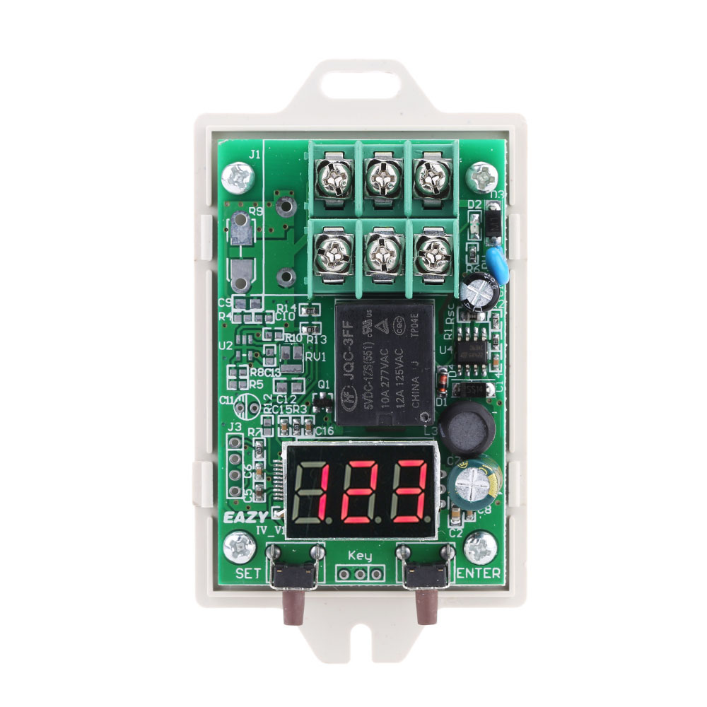 2019 Led Display Time Delay Switch Module 12v 24v Dc Diy Relay Seal In Circuit 1