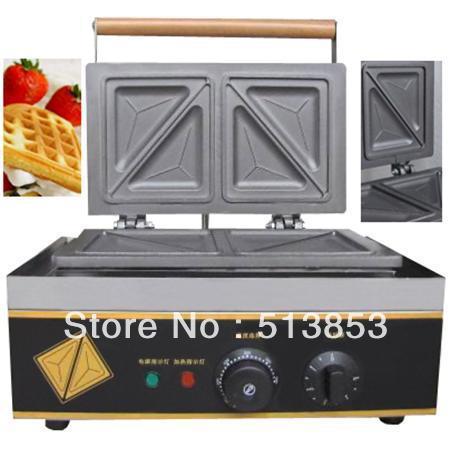 Free shipping,Commercial sandwich machine/sandwich maker/triangle waffle machine cukyi commercial waffle sandwich maker sandwich maker machine sandwich maker toaster sandwich panel machine