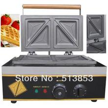Free shipping,Commercial sandwich machine/sandwich maker/triangle waffle machine