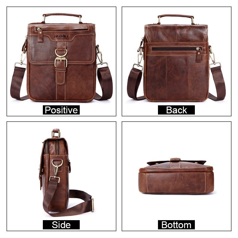Aliexpress Com Buy Ograff Bag Men Shoulder Bags Genuine Leather