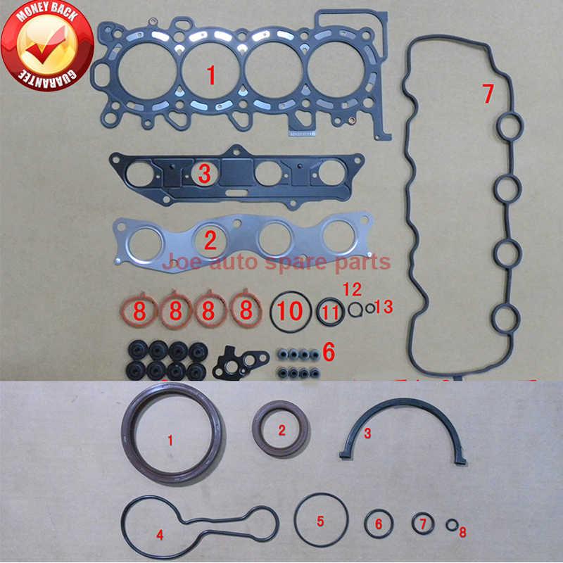 L13a5 L13a1 L12a2 L12a3 L13a Engine Full Gasket Set Kit For Honda Jazz Ii Fit Aria 1 2l 1 3l 1 4l 03 50248200 Full Set Gaskets Aliexpress