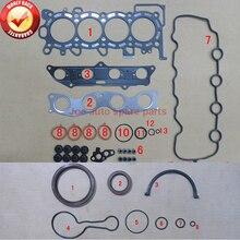 L13A5 L13A1 L12A2 L12A3 L13A Engine Full gasket set kit for Honda JAZZ II FIT ARIA 1.2L 1.3L 1.4L 03- 50248200