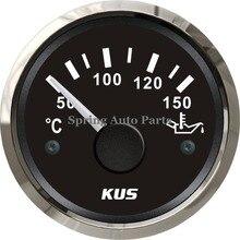 """KUS """" 52 мм Датчик температуры масла 12 В 24 В KY14005 с подсветкой с датчиком температуры"""