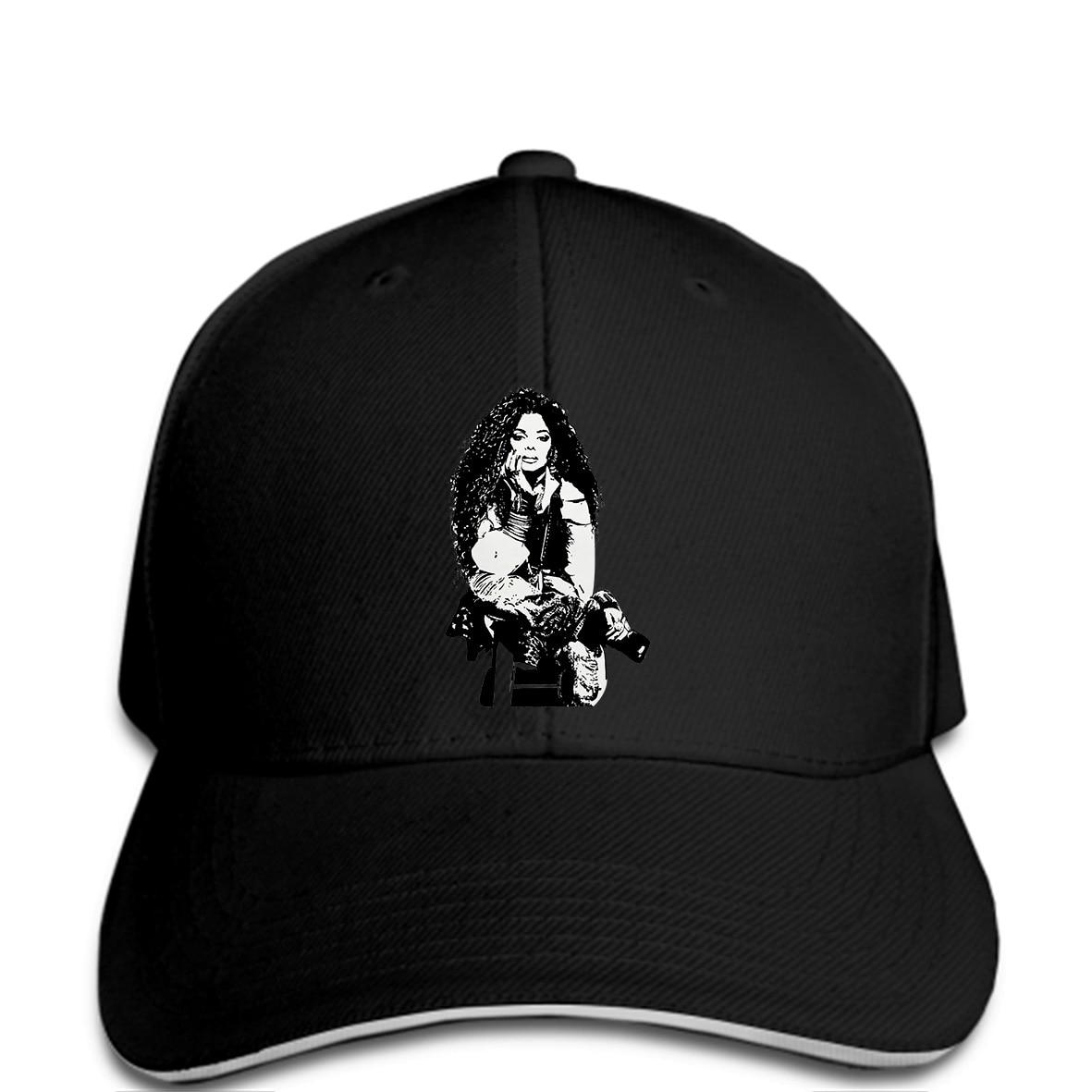 Men Baseball cap Janet Jackson Rock N Roll Unbreakable Logo Fashion funny  Hat novelty tsnapback women-in Baseball Caps from Apparel Accessories on ... baf1a078975